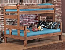 Rustic Bunk Bed Plans Twin Over Full by Best 25 Pallet Bunk Beds Ideas On Pinterest Bunk Bed Mattress