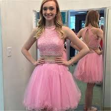 pink homecoming dresses 2017