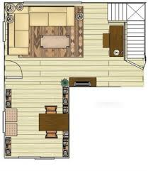 Dining Room Furniture Layout Prepossessing L Shaped Living Dining Room Furniture Layout