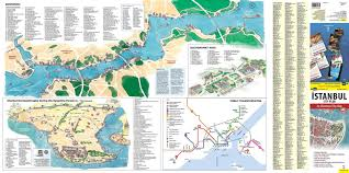 Istanbul World Map by Istanbul City Plan An Illustrated City Map Serif Yenen