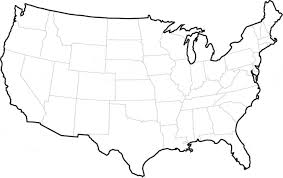 united states map outline blank map usa outline major tourist attractions maps us map