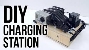 diy charging station ft bolse 7 port usb charger youtube
