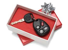 new car gift bow how to gift a car this season quoted