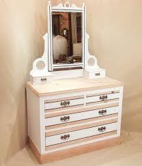 White Bedroom Furniture With Oak Tops Bedroom Furniture Retangle White Solid Wood Make Up Table