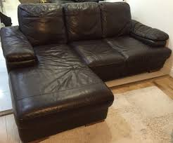 Fulham Leather Sofa Free Set Of Brown Leather Sofa U0027s In Southall London Gumtree