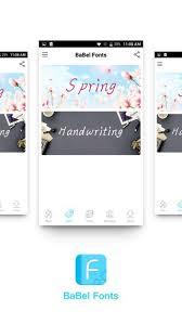 design font apk babel fonts apk 63 10 10 10 0 download free apk from apksum