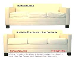 memory foam sofa cushions foam sofa cushions inserts thedesignertouch co