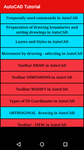 autocad tutorial getting started autocad tutorial for android free download and software reviews