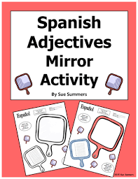 primary spanish resources physical and character description