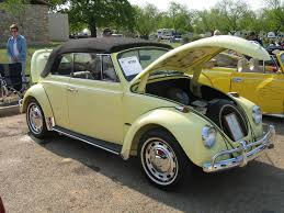 green volkswagen beetle convertible the princess 0701 texas vw classic