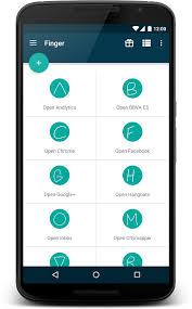 finger apk finger gesture launcher apk android productivity apps