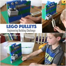 simple machines for kids lego pulleys stem building challenge