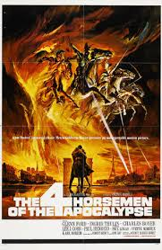 the four horsemen of the apocalypse 1962 movie posters