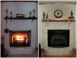 remove paint from brick fireplace fireplace ideas
