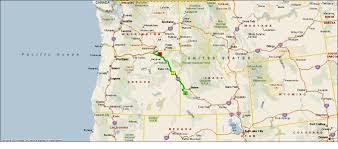 Map Of California And Oregon by Roving Reports By Doug P 2012 28 Marsing Idaho To Hermiston Oregon
