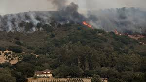 California Wildfire Ranking by Californians Brace For Emotional Toll From Wildfire