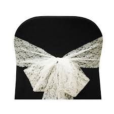 lace chair sashes chair sash where to buy chair sash at the fabrics factory