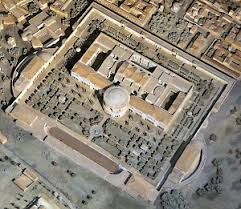 Baths Of Caracalla Floor Plan Rome Baths Of Caracalla Livius