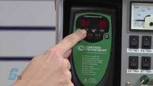 Emerson Control Techniques Commander Sk Ac Drive Basic Startup