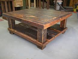 Weathered Coffee Table Weathered Wood Coffee Table And End Tables Wicker Distressed