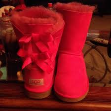 ugg s kaleen boot 17 ugg boots pink uggs with bows from s closet on
