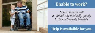 are disabilities automatically approved for social security
