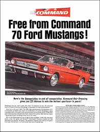 ford mustang ad auto history preservation society view ad brochure or press release
