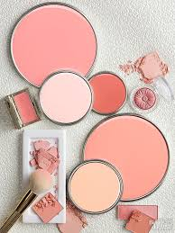 oranges pinks corals and more get on this paint color trend