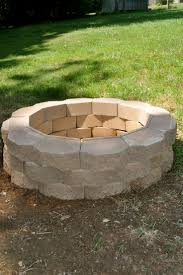 building a backyard fire pit best how to build a fire pit has how to make a fire pit screen on