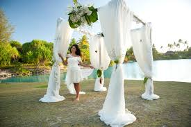 destination weddings st st regis bora bora offers designer gowns in destination wedding