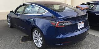 2018 tesla model 3 spied and specifications leaked update with