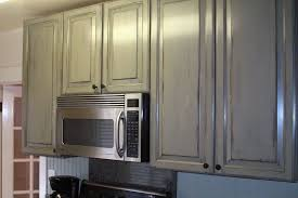 Paint Finishes For Kitchen Cabinets by Kitchen Cabinets With Antique Paint Finish For Cottage Look Yelp