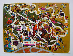 Zoo Map San Diego Zoo Map 1960s Pictorial Map Of The Zoo Chris Rooney