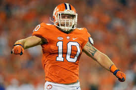 the unlikely inspiration behind the bad boy play of clemson u0027s ben