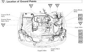 lexus rx300 alternator replacement where does the negative battery cable bolt to the engine at