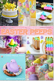Decorating Easter Cupcakes With Peeps by Creative Ideas For Easter Peeps As Fun Sweets And Treats