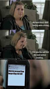 Texting And Driving Meme - psa texting while driving is dangerous imgur