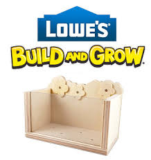 Lowes Planter Box by Free See It Grow Kids Workshop At Lowes 4 11