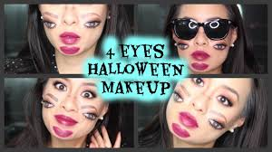four eyes halloween makeup inpired by promise phan creepy double