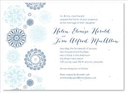 Plantable Wedding Invitations Winter Wedding Invitations On White Seeded Paper Winter Party By