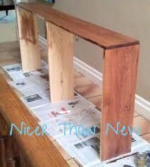 diy thin sofa table sofa tables tutorials and living rooms