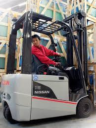 Forklift Mechanic Electric Forklift Ride On Industrial Medium Load Platinum