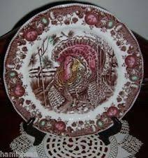 johnson brothers turkey plates ebay