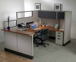 Desks At Office Depot Of Ades Cluster Of 4 Person L Shape Office Desk Cubicle