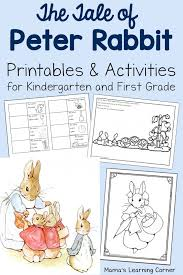 tale peter rabbit printables mamas learning corner