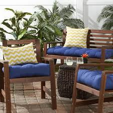 Highback Patio Chair Cushions Amazon Com Greendale Home Fashions 20 Inch Indoor Outdoor Chair