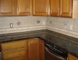 Interior  Cool The Kitchen Back Wall Of Ceramic Tile Backsplash - Large tile backsplash