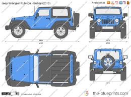 jeep vector the blueprints com vector drawing jeep wrangler rubicon hardtop