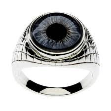 eye shaped rings images Men 39 s blue eye egyptian inspired ring jpg
