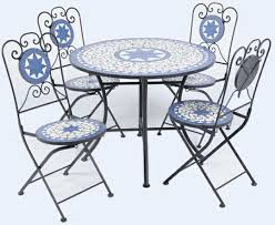 Mosaic Patio Table And Chairs Mosaic Patio Set Home Design Ideas And Pictures